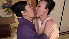 Closeup video be advantageous to a honcho Asian girl getting licked wits Uekawa Haruko