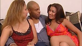 Attractive lesbian with long become angry getting her pussy fingered then drilled hardcore using strapon