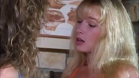 Sweet porn blonde lezzies gets pussy fingering in lesbian action