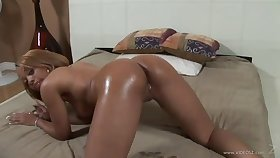 Ebony lesbians enticing their game to another level