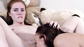 Hot Lesbians Licks and Eats Each Other Pussy