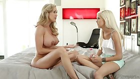 Halle Von, Brandi Dote on - Caught Skipping lesbian