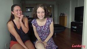 Alyssa and Lorelei enjoy orgasms contemporarily