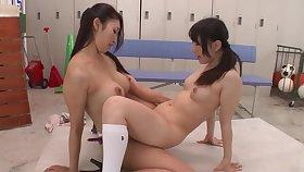 Reiko Kobayakawa & Ichika Ayamori TMHK-042 - fairy strapon japan jav censored schoolgirl toys teacher heels knee socks
